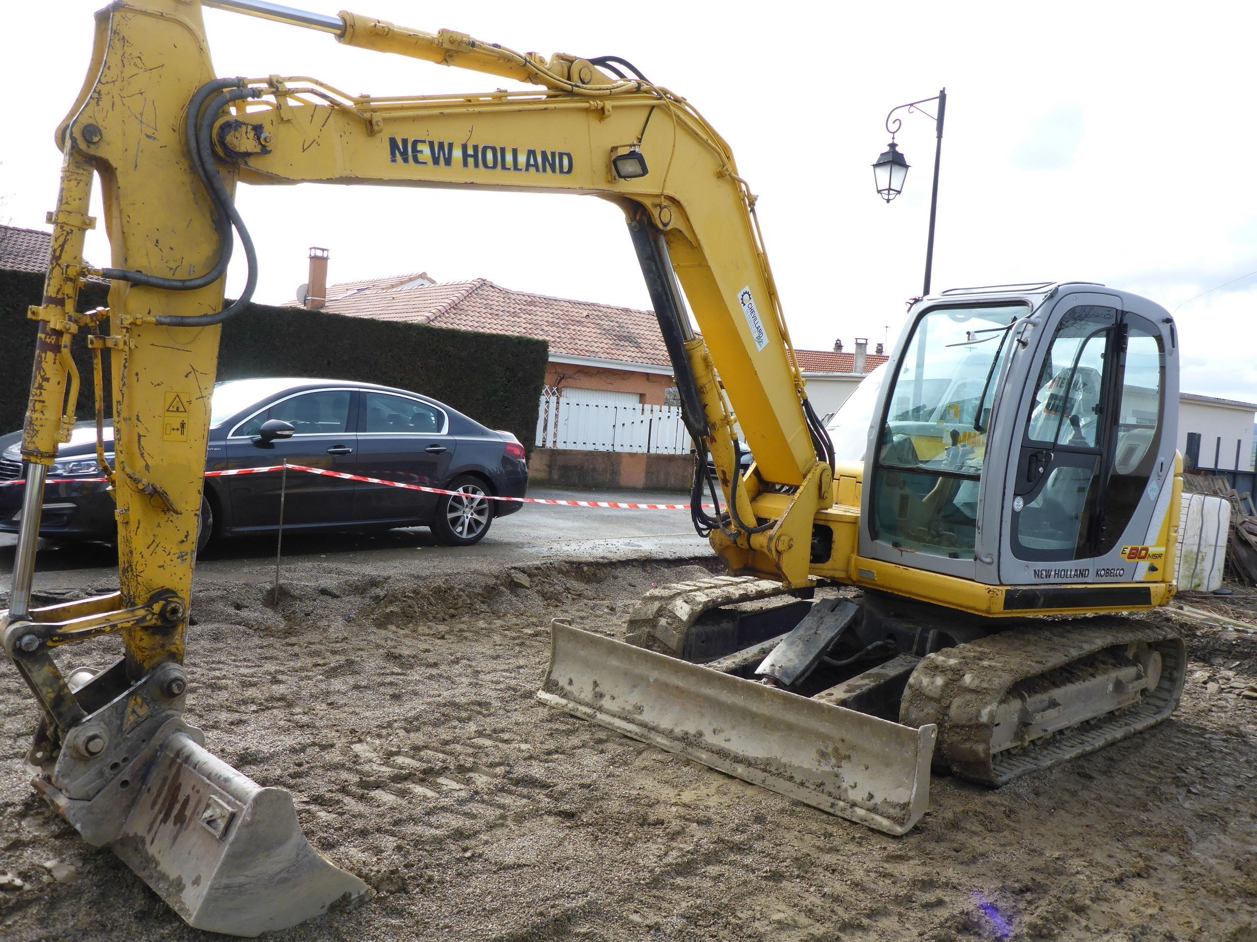 2007 - New Holland E80-1ES