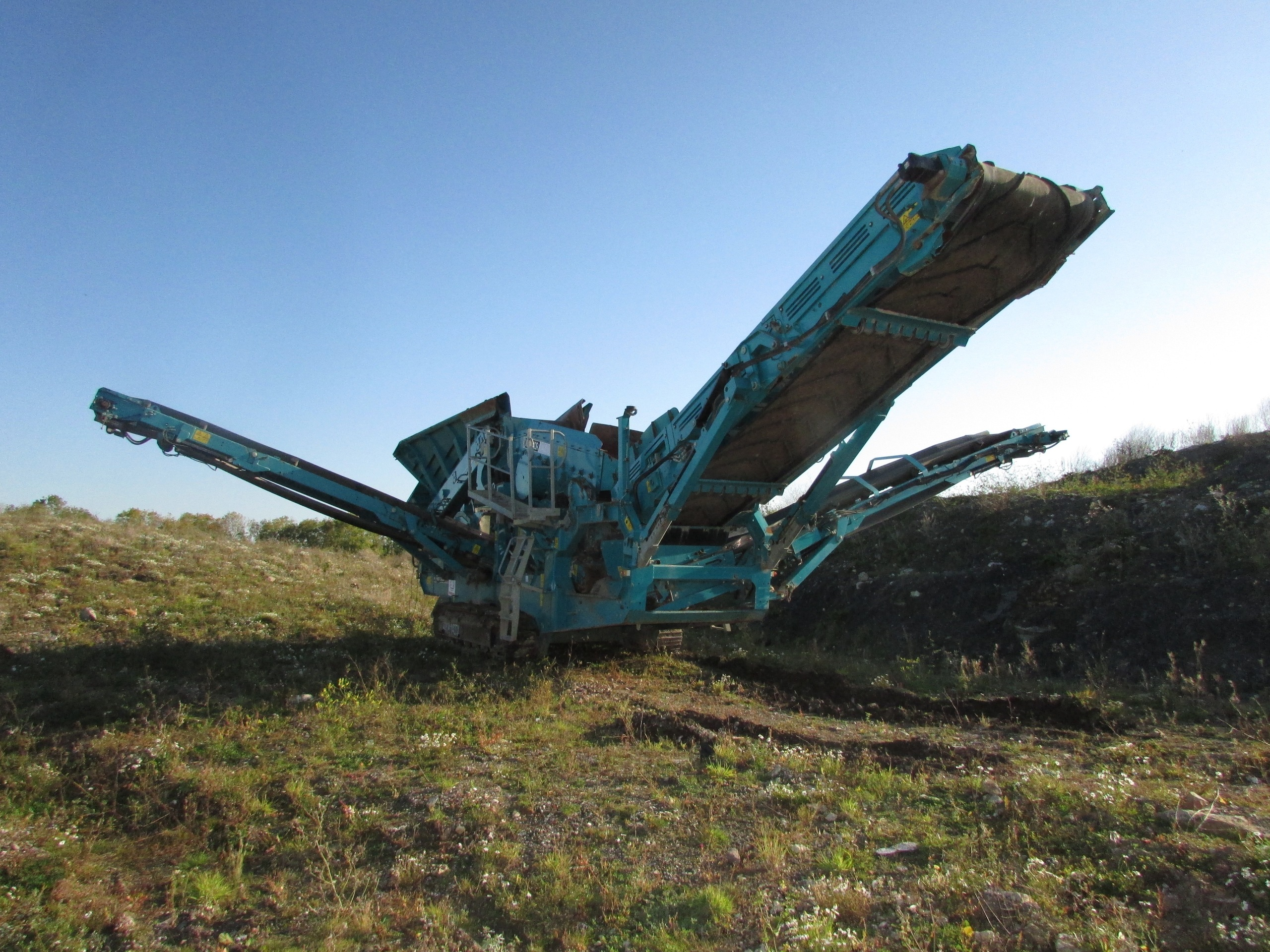 2012 - Powerscreen Warrior 1400X