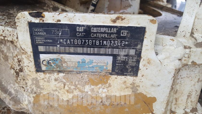 2008 Caterpillar 730