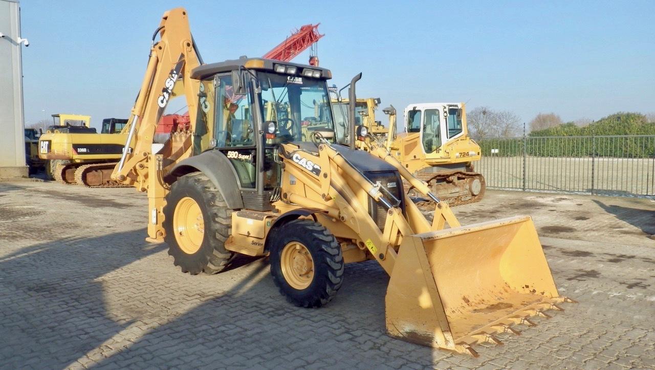 2008 - Case 580 Super R