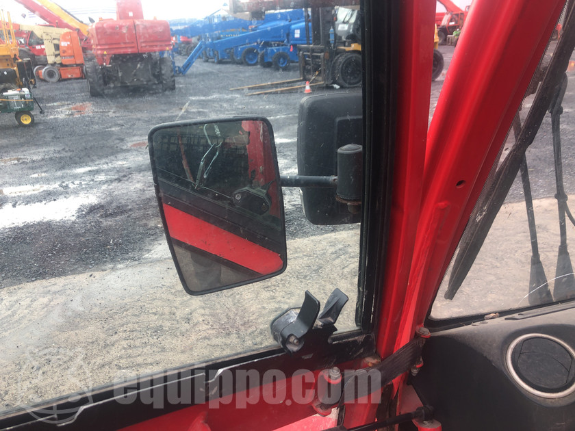pick up coin with forklift